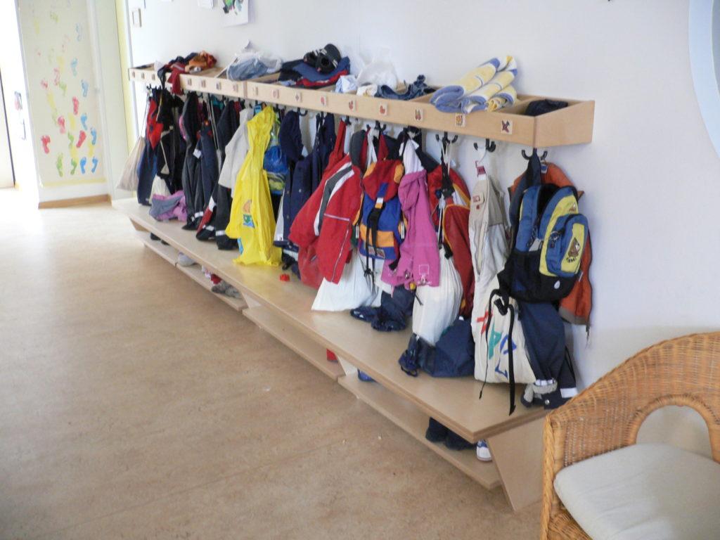 garderobe-in-kita