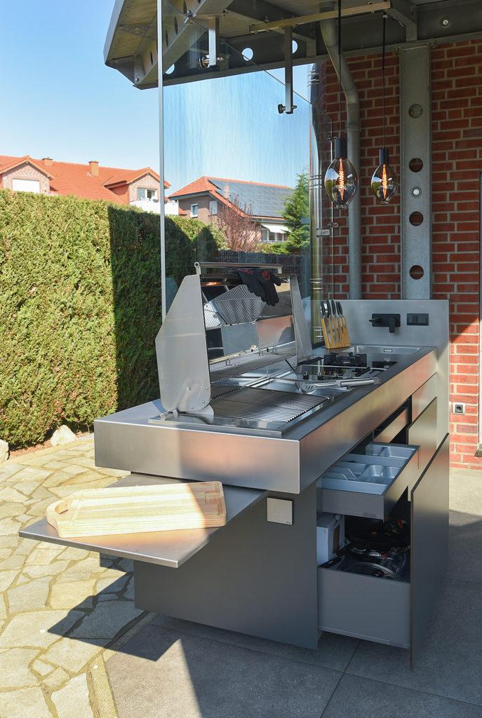 Küche Außenbereich
